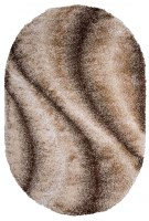 Shaggy 8178 Beige Oval